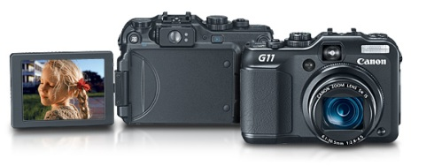 The new Canon G11. Image from Canon USA.