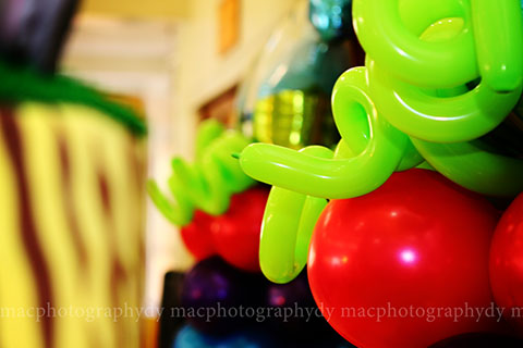 Balloon fun, mandatory at any party.
