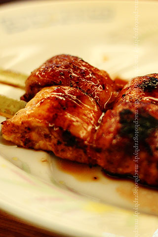 Yakitori-chicken barbeque