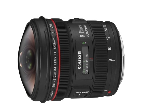 EF 8-15mm f4 L USM FSL NO CAP