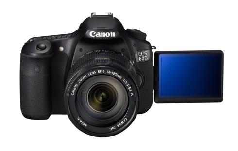 EOS 60D w EF-S 18-135mm FRT LCD OPEN