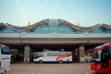 Nanjing International Airport. Exterior shot.